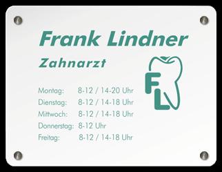 Zahnarzt Frank Lindner - Logo