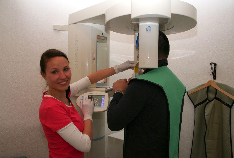 Röntgen OPG digital